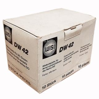 Крышка DW42 IVORY для тв розеток WISI
