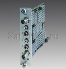 Сдвоенный A/V модулятор WISI OH38